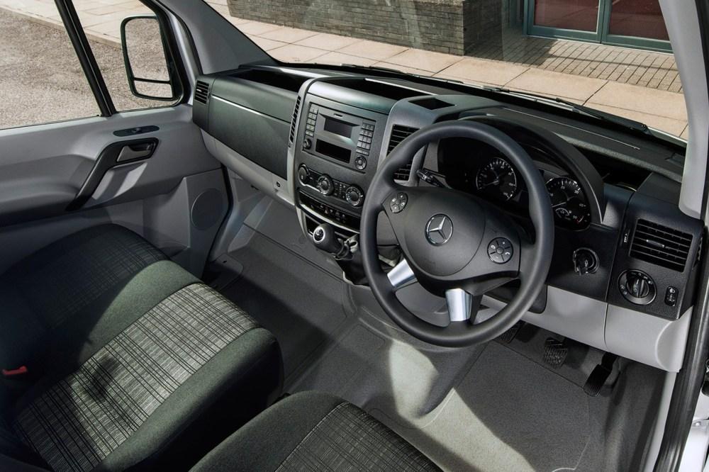 medium resolution of mercedes benz sprinter full review on parkers vans cabin