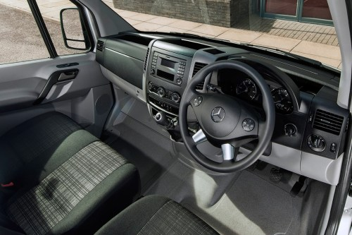 small resolution of mercedes benz sprinter full review on parkers vans cabin