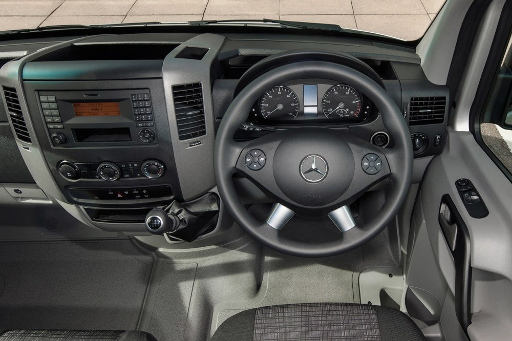 medium resolution of mercedes benz sprinter full review on parkers vans in the driver s seat