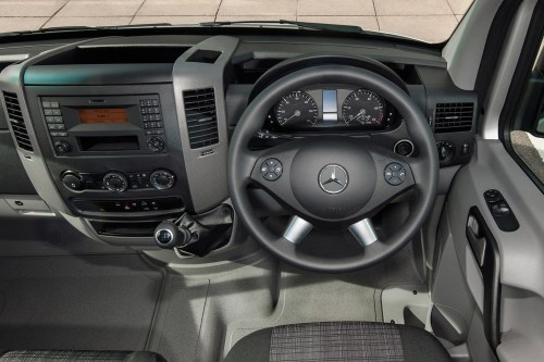 small resolution of mercedes benz sprinter full review on parkers vans in the driver s seat
