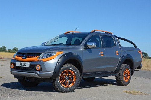 small resolution of mitsubishi l200 barbarian svp ii review front view grey and orange