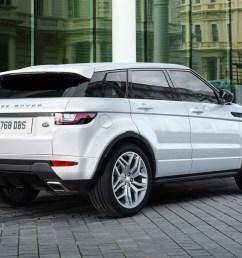 range rover evoqe facelift rear white range rover evoque  [ 1500 x 1017 Pixel ]