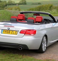 bmw 3 series convertible 2007 2013 features equipment and accessories parkers [ 1750 x 1168 Pixel ]