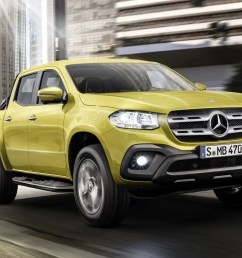 mercedes benz x class pickup truck official pictures and details at last [ 1700 x 1132 Pixel ]