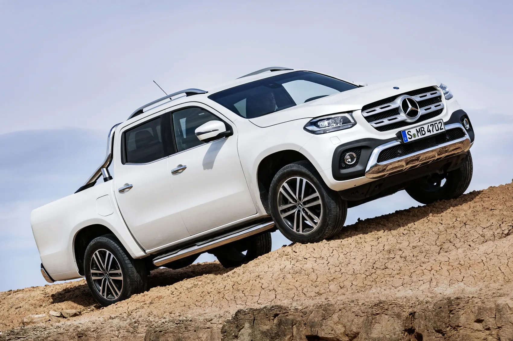 hight resolution of mercedes benz x class pickup truck official pictures and details at last
