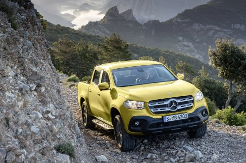 small resolution of mercedes benz x class pickup truck official pictures and details at last