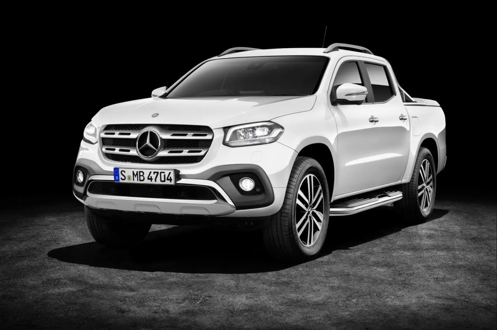 medium resolution of mercedes benz x class pickup truck official pictures and details at last