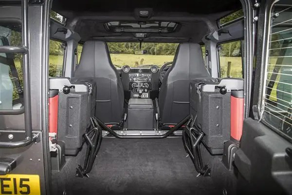 Land Rover Defender van dimensions 20072016 capacity