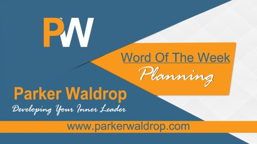Word of the Week Planning