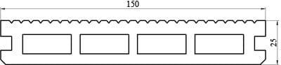 Характеристики террасной доски «Classic»