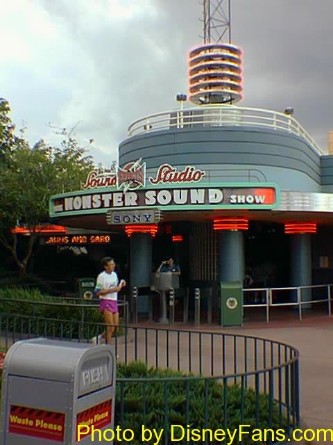 Disney/MGM Studios in 1996