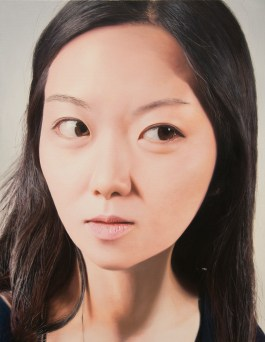 """Ayoung, 116X91cm(45.7X35.8""""), oil on canvas, 2009"""