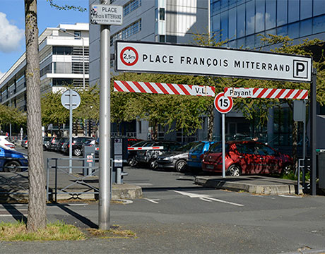 parking saint serge mitterrand parkings angers stationnement a angers alter services