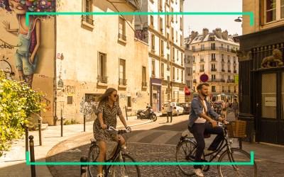 La première plateforme de parkings vélos est arrivée !