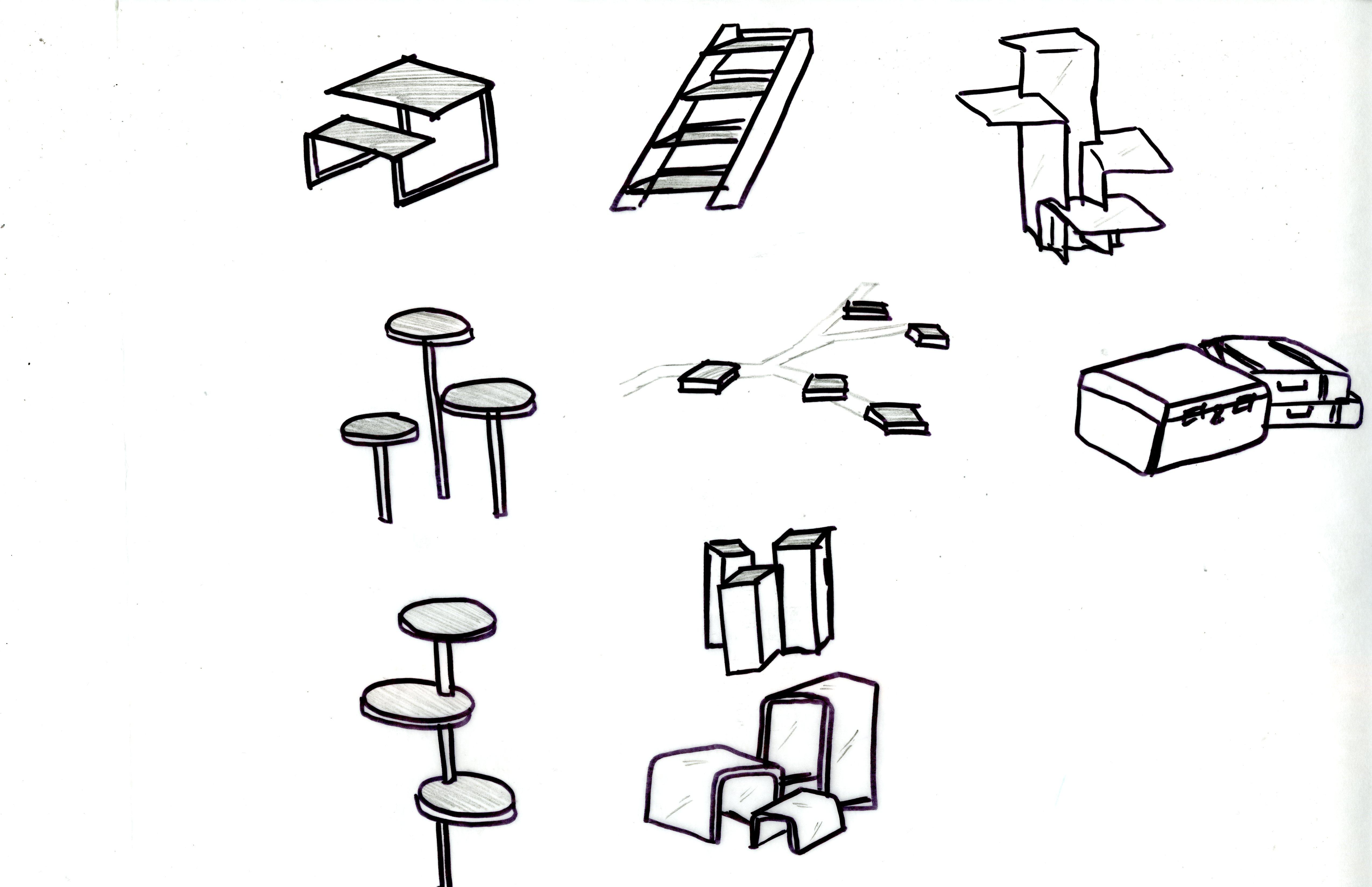 bubble diagrams exploring different floor plans 2 design is design