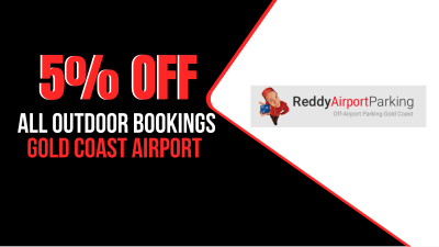 5% OFF All Outdoor Gold Coast Reddy Airport Parking Coupon Code