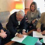 Firma Convenio Grupo Serrano Automoción