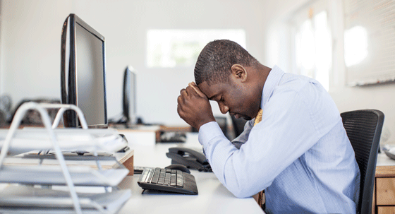 Work is extra stressful with Parkinson's