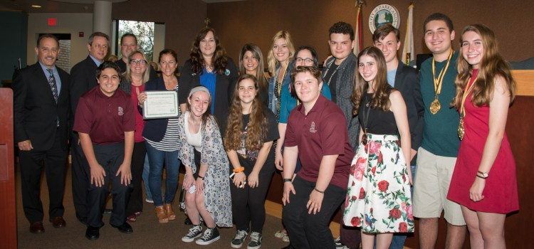 Stoneman Douglas Drama Students Recognized for Cappies Awards