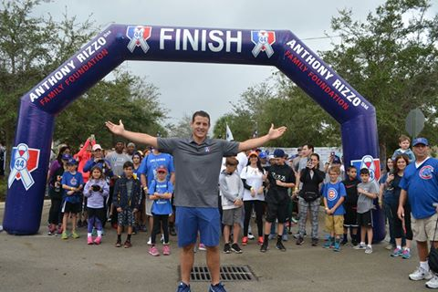 World Series Champ Anthony Rizzo Holds 6th Annual Walk Off for Cancer
