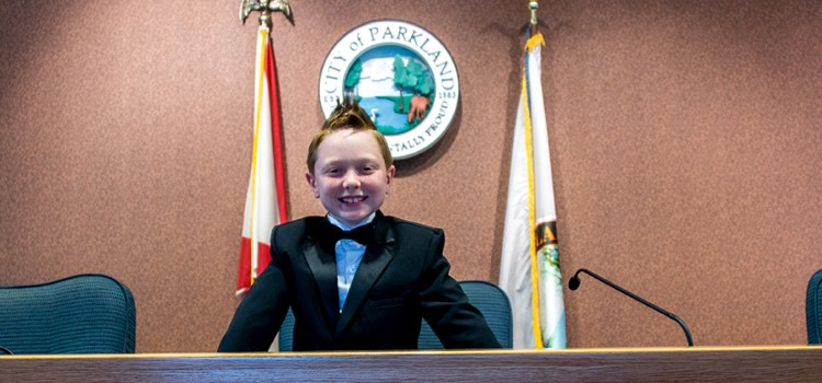 "Parkland's Mayor of the Day Proclaims ""Ice Cream for Everyone"""