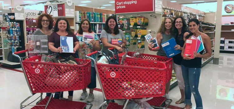 Parkland Mom Heads Up Community Backpack Drive Helping Children in Need