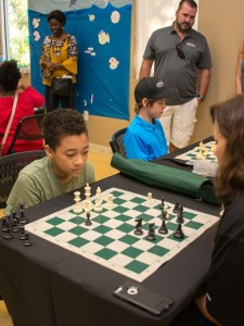 Parkland Holds Third Annual Mayors' Chess Challenge