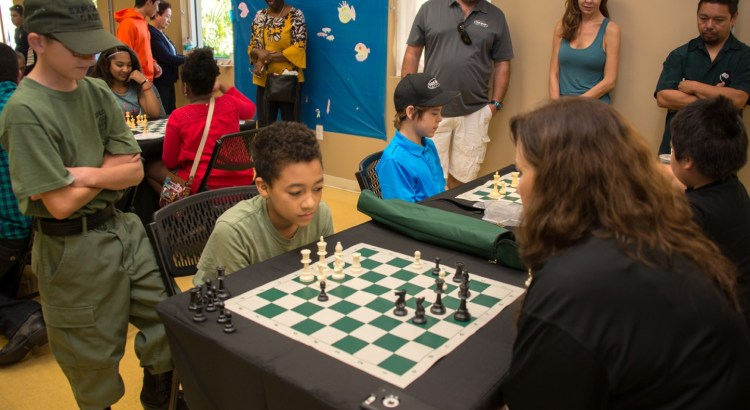 Parkland Holds Their Second Annual Mayors' Chess Challenge