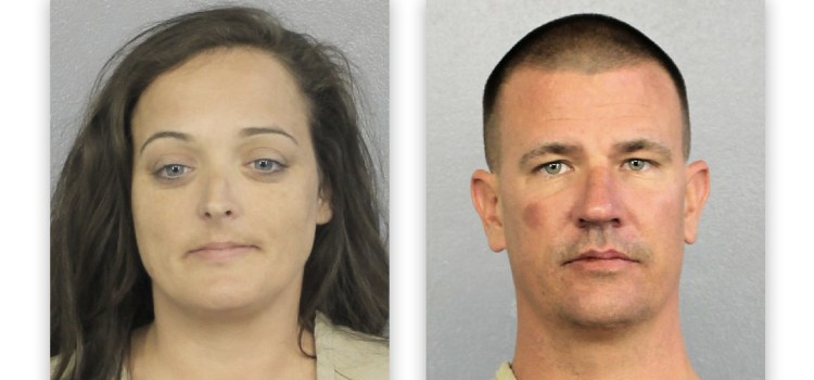 Couple Arrested For Stealing Teddy Bears, Plaques, From Stoneman Douglas Memorial