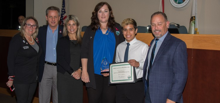Parkland Students Take Home Awards at City Commission Meeting