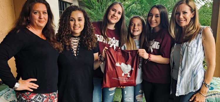 Families Donate Tote Bags Filled with Gifts for Marjory Stoneman Douglas Teachers, Staff