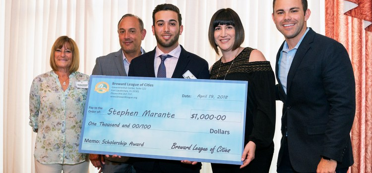 Parkland Resident Awarded Scholarship from Broward League of Cities