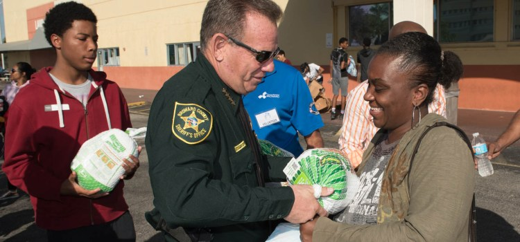 Sheriff Israel: Doing Our Part to End Food Insecurity