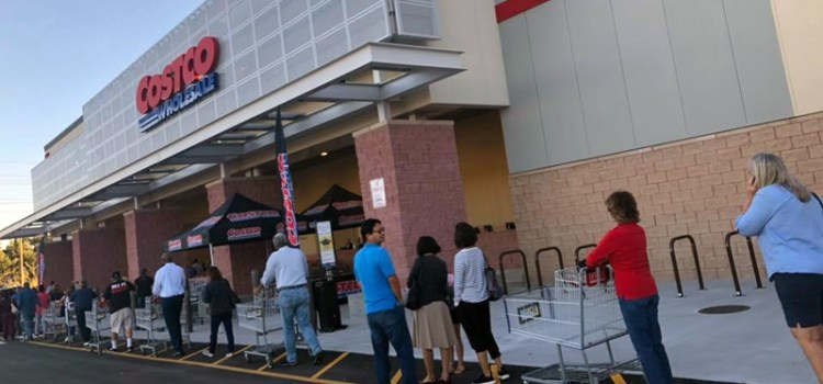 Customers Flock to the Grand Opening of Costco in Coral Springs