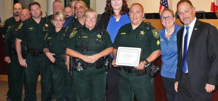 Parkland School Resource Officers Honored by City Commission