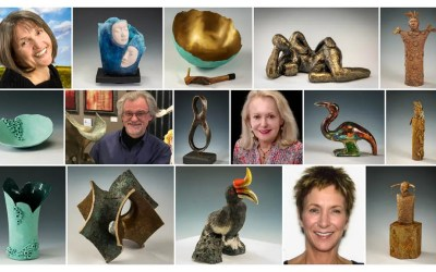 Intriguing, Beguiling Sculpture and Pottery