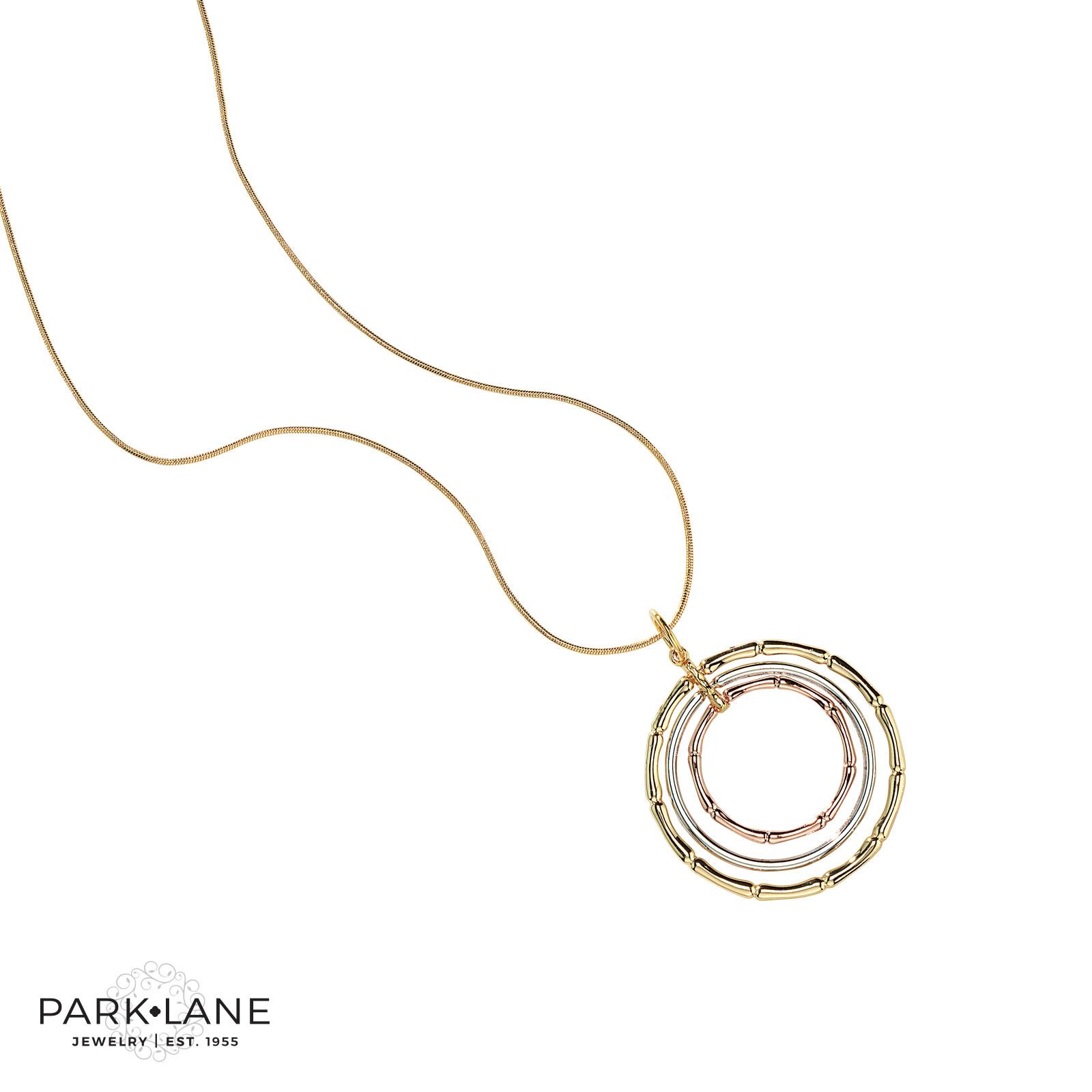 Chain Necklace Color Tri