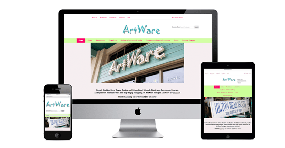 ArtWare Designs E-commerce Website