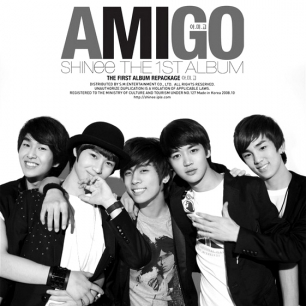 shinee - amigo album cover