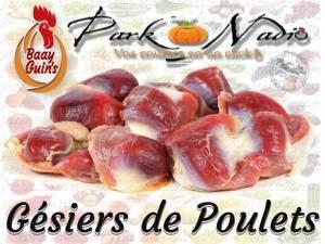 Gesiers de poulet - livraison a Domicile