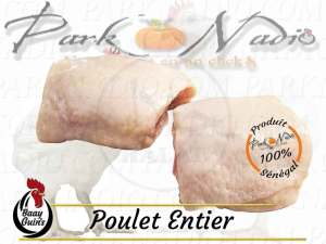 Haut de cuisses de poulets