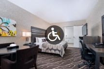 King Room Mobility Accessible - Park Place Inn Mini Suites
