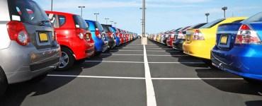 full car parking lot