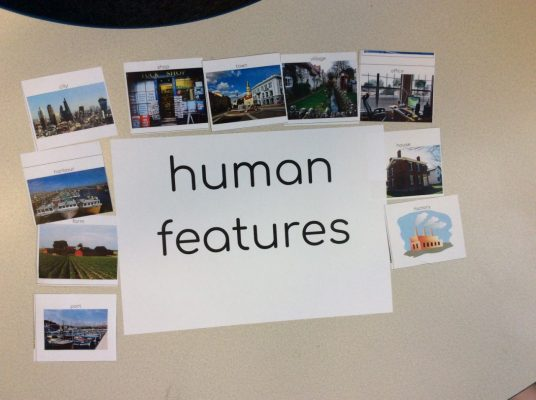 Human features