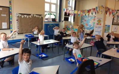 Year 1 Bubbles – A Cress Mess!