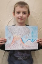 A 'HOME' Eruption of Art in Year 3!