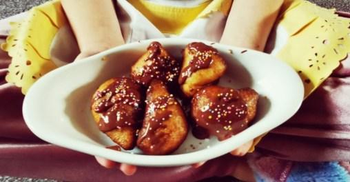 Eva 1 - H&G cloudy chocolatey doughnuts