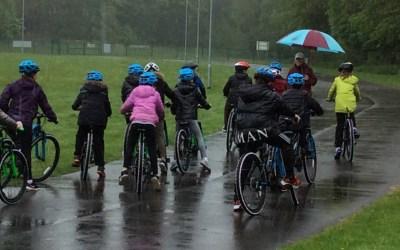 A Cycling Cyclone at the Hub.
