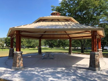 Community Park Darien ICON Shelters