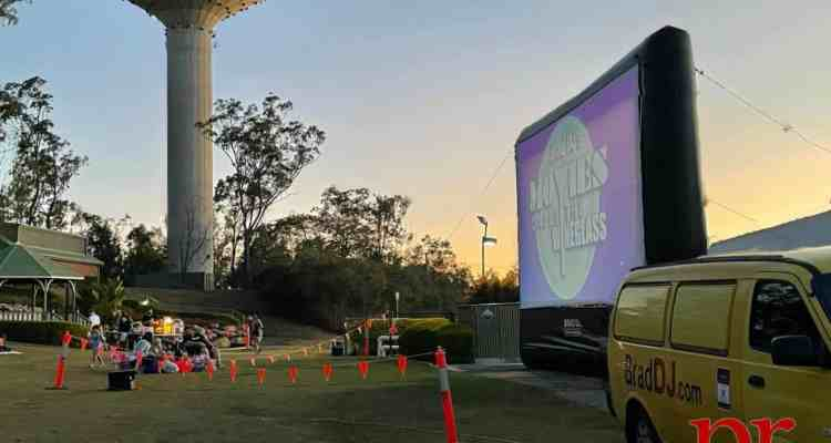 The first ever Movies Under the Wineglass event in Hillcrest kicked off on October 2, 2021 as the community gathered to enjoy a free community outdoor theatre experience.